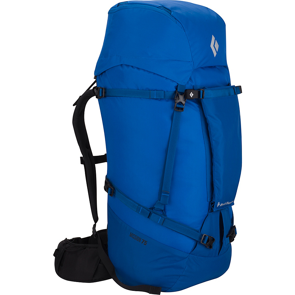 Black Diamond Mission 75 Hiking Pack Cobalt - Small/Medium - Black Diamond Backpacking Packs - Outdoor, Backpacking Packs
