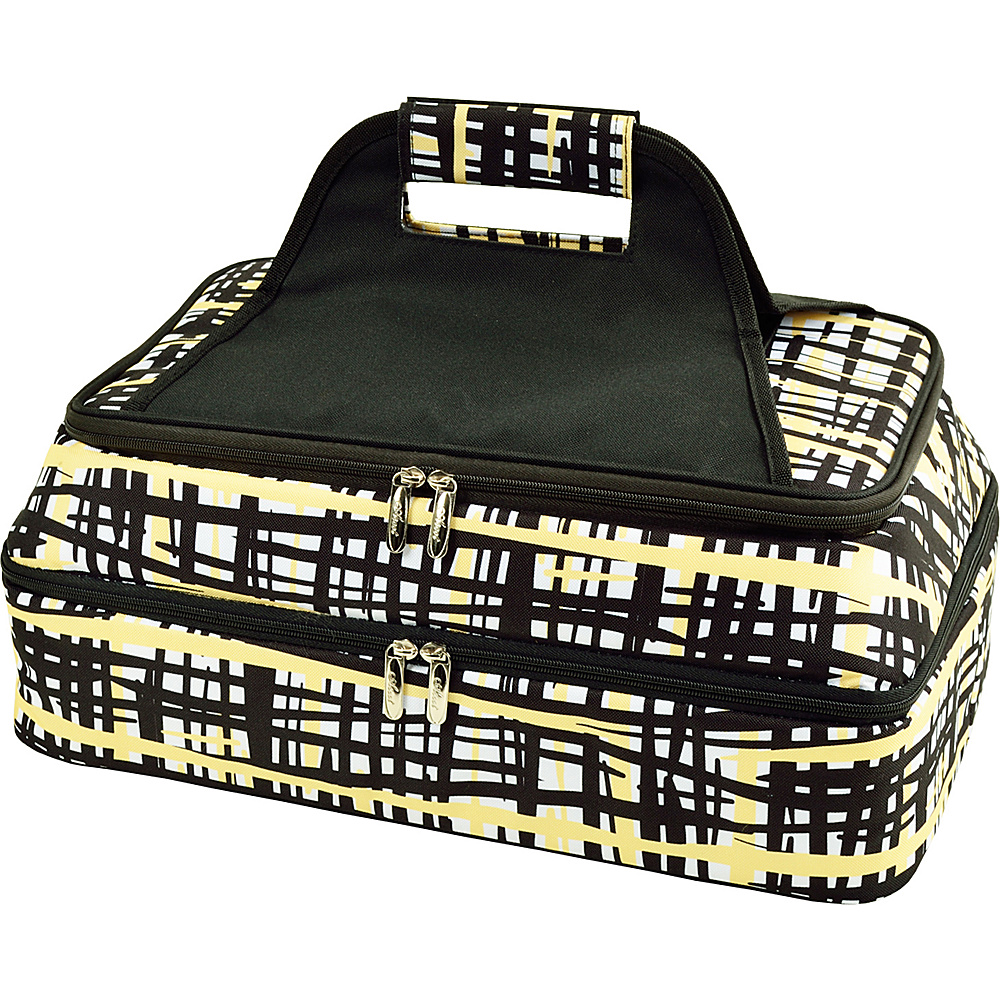 Picnic at Ascot Two Layer Hot/Cold Thermal Food & Casserole Carrier Paris - Picnic at Ascot Travel Coolers - Travel Accessories, Travel Coolers