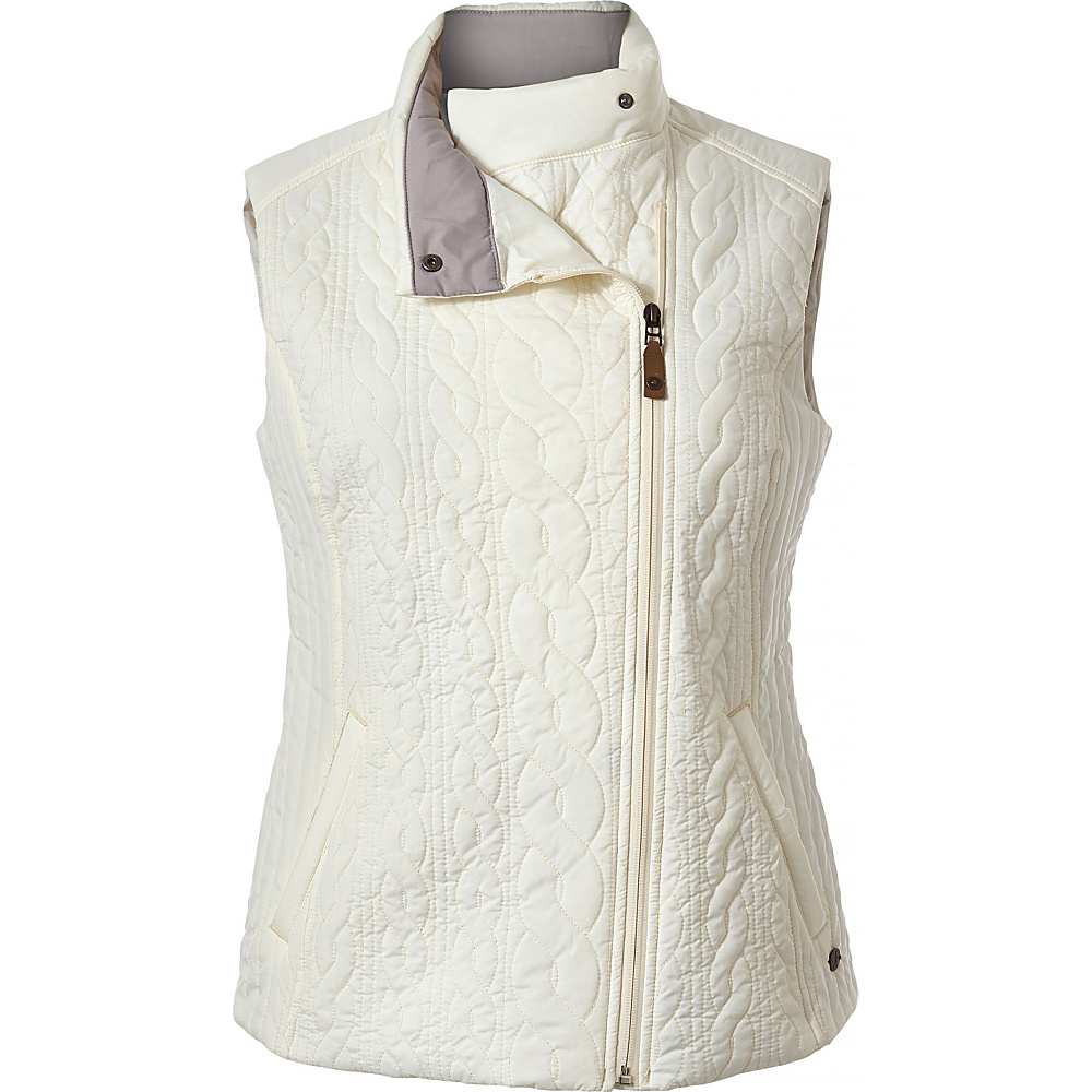 Royal Robbins Womens Kaybelle Vest L - Creme - Royal Robbins Womens Apparel - Apparel & Footwear, Women's Apparel