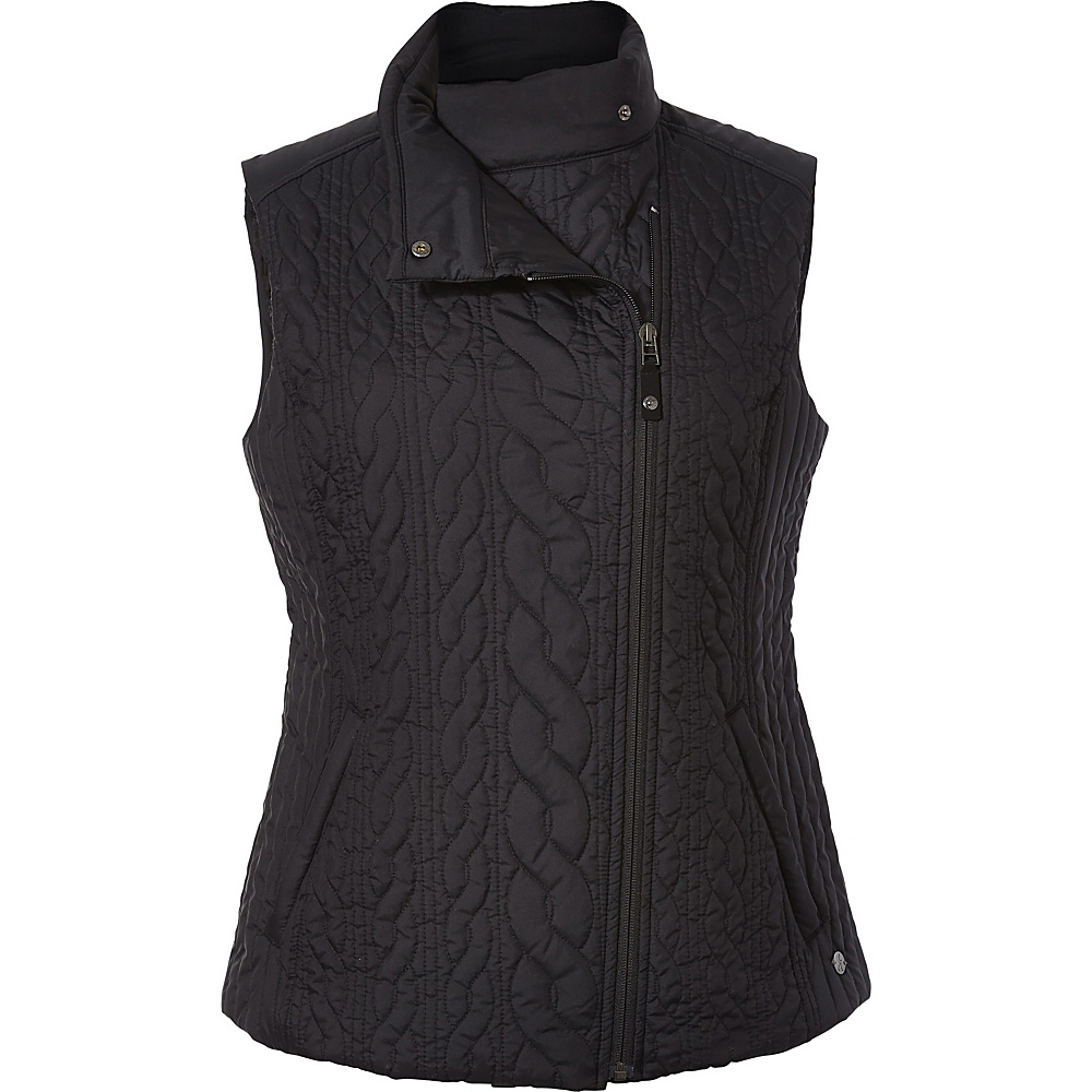 Royal Robbins Womens Kaybelle Vest XS - Jet Black - Royal Robbins Womens Apparel - Apparel & Footwear, Women's Apparel