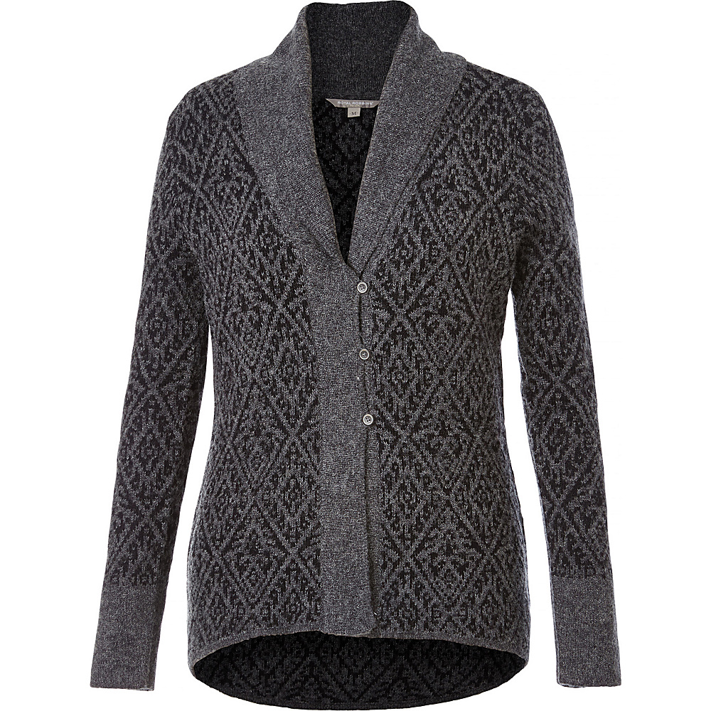 Royal Robbins Womens Autumn Rose Cardigan S - Charcoal - Royal Robbins Womens Apparel - Apparel & Footwear, Women's Apparel
