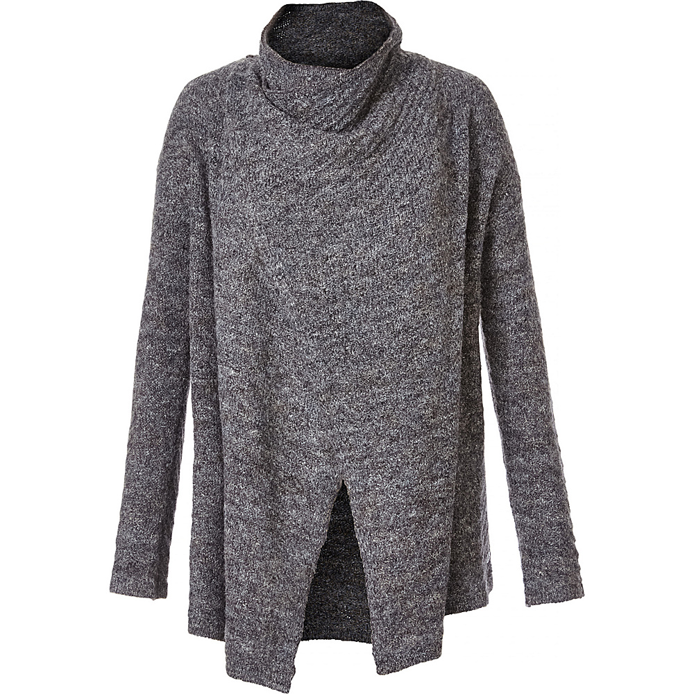 Royal Robbins Womens Sophia Convertible Cardigan Solid XS - Charcoal - Royal Robbins Womens Apparel - Apparel & Footwear, Women's Apparel