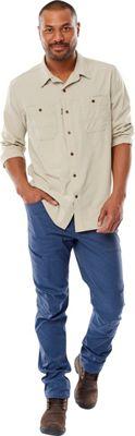 Royal Robbins Mens Long Distance Traveler Long Sleeve Shirt XXL - Lead - Royal Robbins Men's Apparel