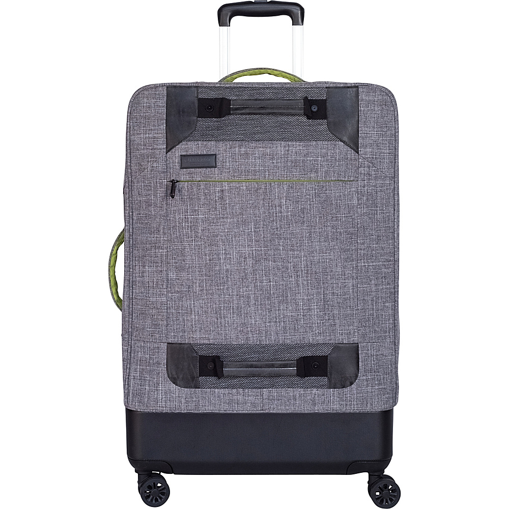 All of Us Hybrid 21″ Expandable Carry-On Spinner Luggage Grey – All of Us Softside Carry-On