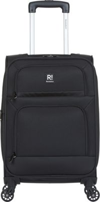 Revelation Remy Pro 21 inch Expandable Carry-On Spinner Luggage Black - Revelation Softside Carry-On