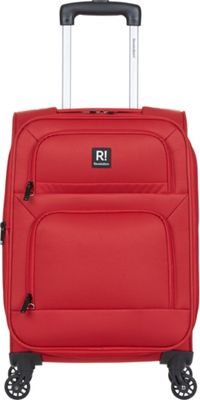 Revelation Remy Pro 21 inch Expandable Carry-On Spinner Luggage Red - Revelation Softside Carry-On