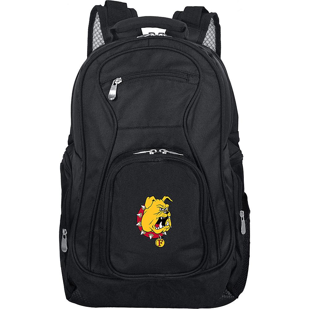 MOJO Denco College NCAA Laptop Backpack Ferris State - MOJO Denco Business & Laptop Backpacks - Backpacks, Business & Laptop Backpacks