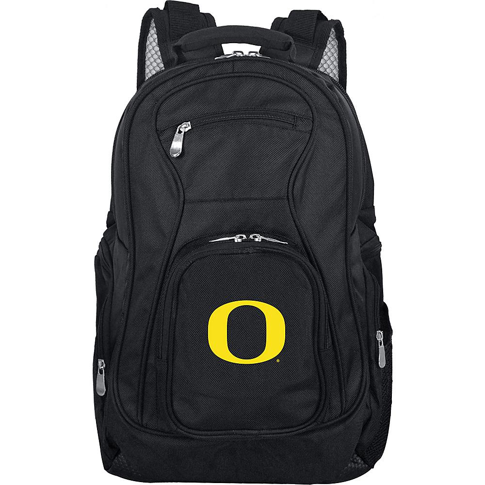 MOJO Denco College NCAA Laptop Backpack Oregon - MOJO Denco Business & Laptop Backpacks - Backpacks, Business & Laptop Backpacks