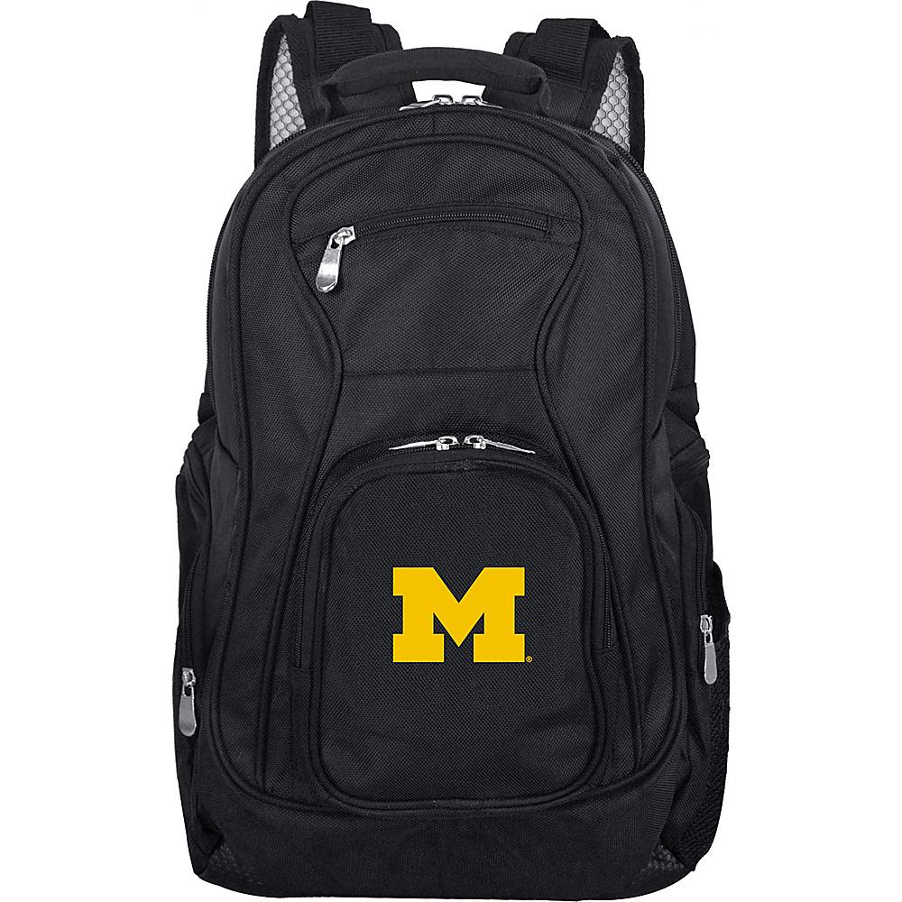 MOJO Denco College NCAA Laptop Backpack Michigan - MOJO Denco Business & Laptop Backpacks - Backpacks, Business & Laptop Backpacks