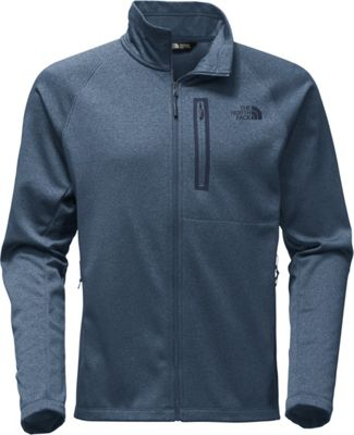 The North Face Mens Canyonlands Full Zip XL - Shady Blue Heather - The North Face Men's Apparel