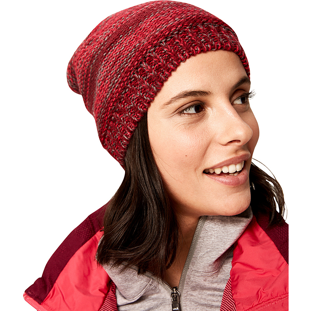 Lole Reverse Knit Slouch One Size - Dark Berry - Lole Hats/Gloves/Scarves - Fashion Accessories, Hats/Gloves/Scarves