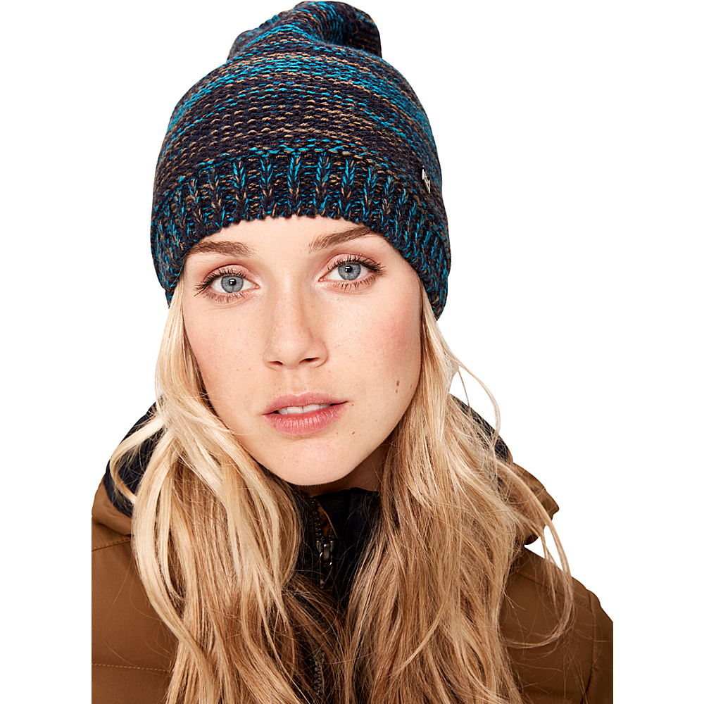 Lole Reverse Knit Slouch One Size - Blue Nights - Lole Hats/Gloves/Scarves - Fashion Accessories, Hats/Gloves/Scarves