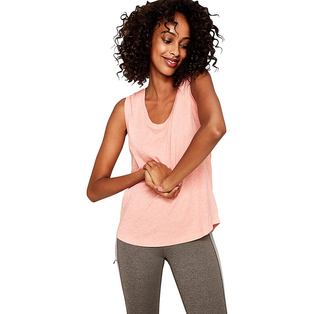 Lole Dace Top XS - Coral Heather - Lole Womens Apparel - Apparel & Footwear, Women's Apparel