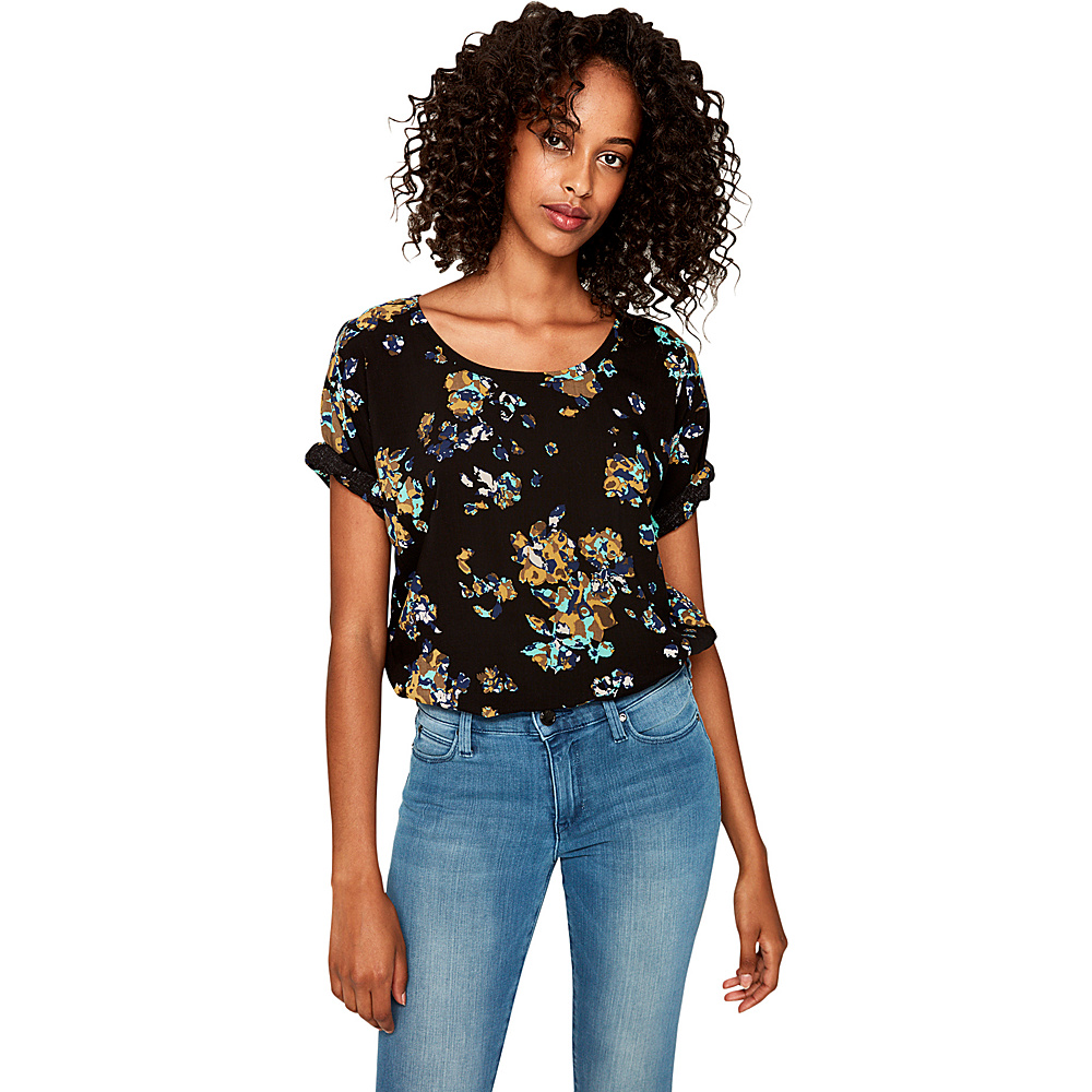 Lole Jazmin Top XS - Black Broken Floral - Lole Womens Apparel - Apparel & Footwear, Women's Apparel