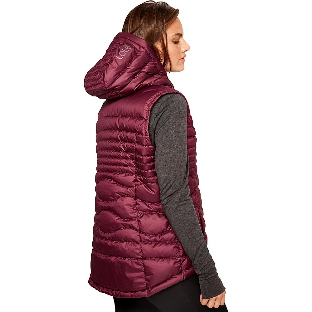 Lole Rose Packable Vest S - Dark Berry - Lole Womens Apparel - Apparel & Footwear, Women's Apparel