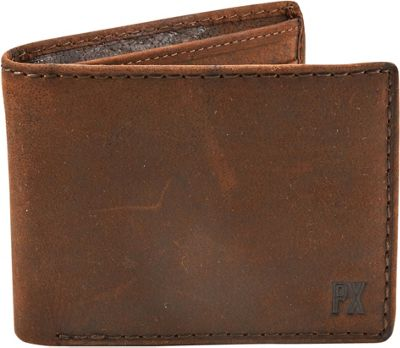 PX Otto  Bi-fold Wallet Brown - PX Men's Wallets
