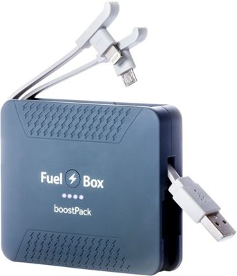 FuelBox BoostPack Portable Battery Astro Grey - FuelBox Portable Batteries & Chargers