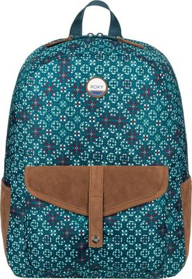 Roxy Carribean 18L Medium Backpack Reflective Pond Liberia - Roxy Everyday Backpacks