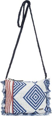 Roxy Walking In The Air Small Crossbody Clematis Blue - Roxy Fabric Handbags