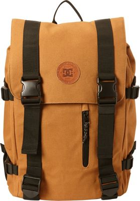 DC Shoes Men's Crestline 23L Medium Laptop Backpack Dc Wheat - DC Shoes Laptop Backpacks