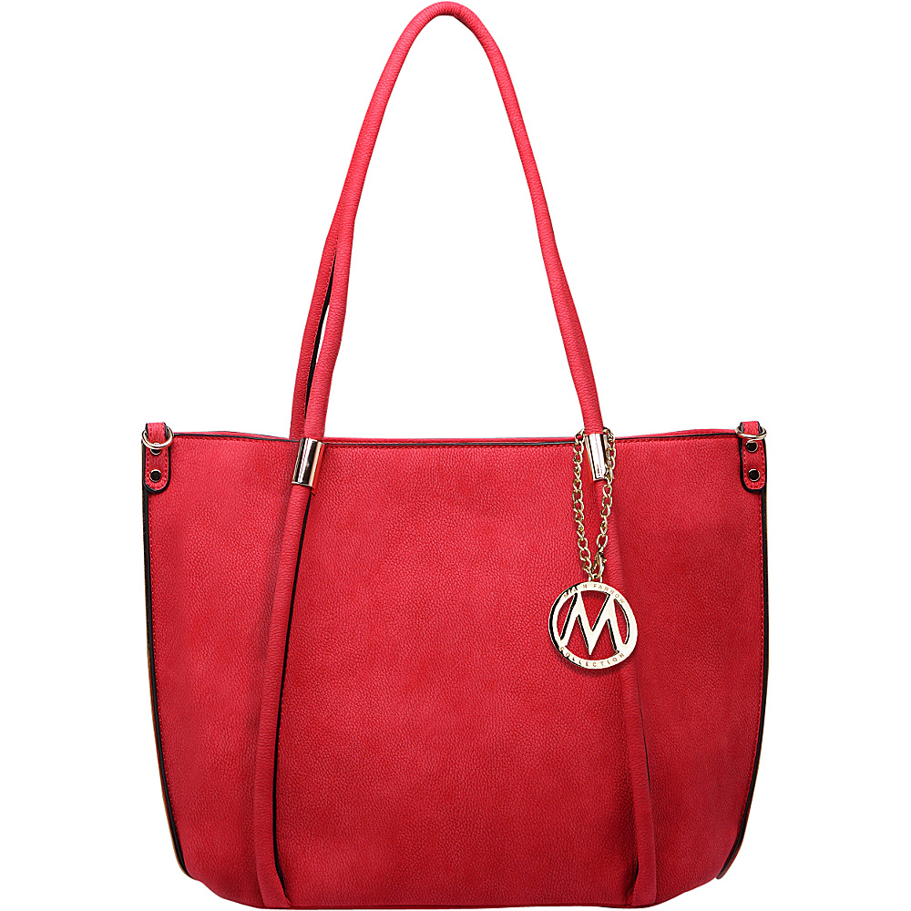 MKF Collection by Mia K. Farrow Lillian Tote Red - MKF Collection by Mia K. Farrow Manmade Handbags - Handbags, Manmade Handbags