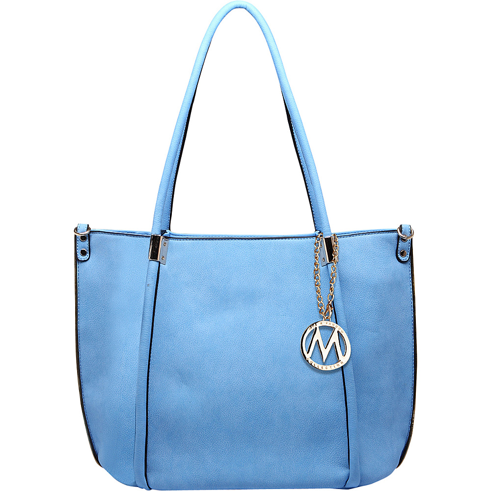 MKF Collection by Mia K. Farrow Lillian Tote Blue - MKF Collection by Mia K. Farrow Manmade Handbags - Handbags, Manmade Handbags