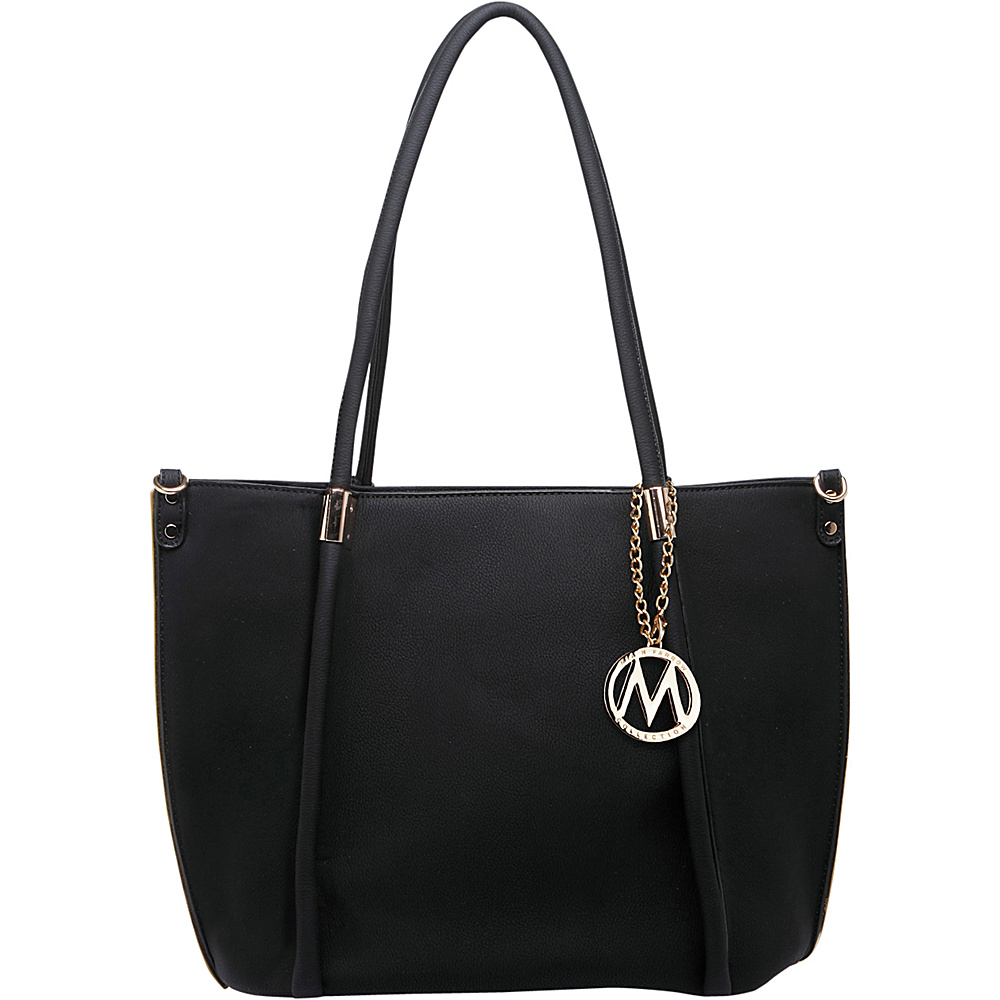 MKF Collection by Mia K. Farrow Lillian Tote Black - MKF Collection by Mia K. Farrow Manmade Handbags - Handbags, Manmade Handbags