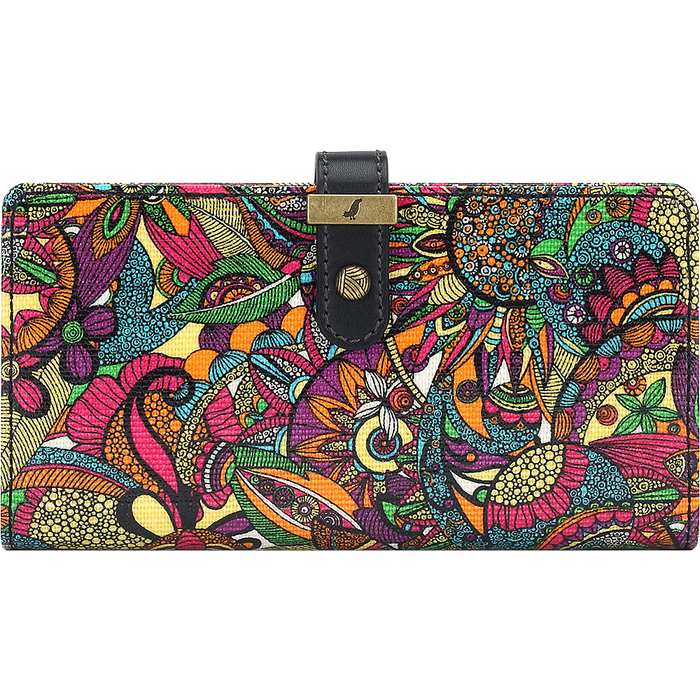 Sakroots Rae Slim Charging Wallet Rainbow Spirit Desert - Sakroots Womens Wallets - Women's SLG, Women's Wallets
