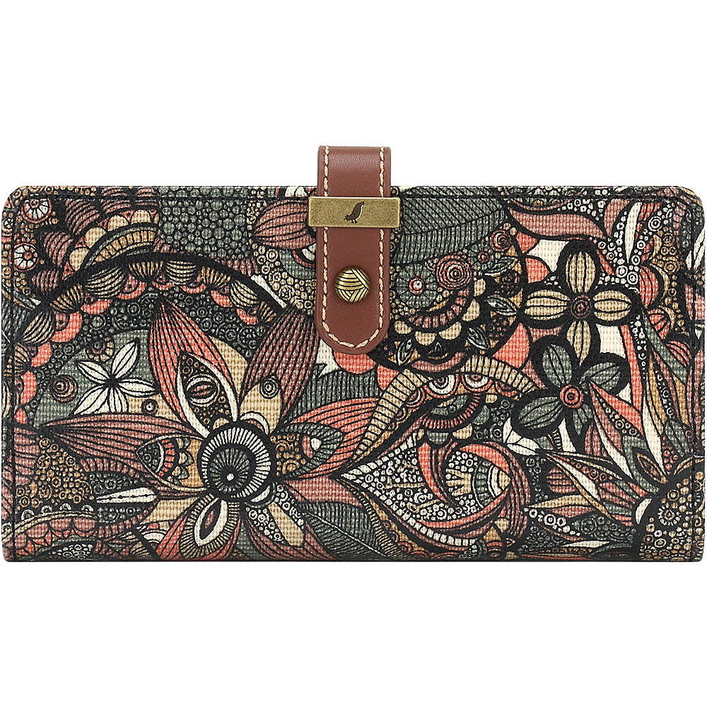 Sakroots Rae Slim Charging Wallet Sienna Spirit Desert - Sakroots Womens Wallets - Women's SLG, Women's Wallets