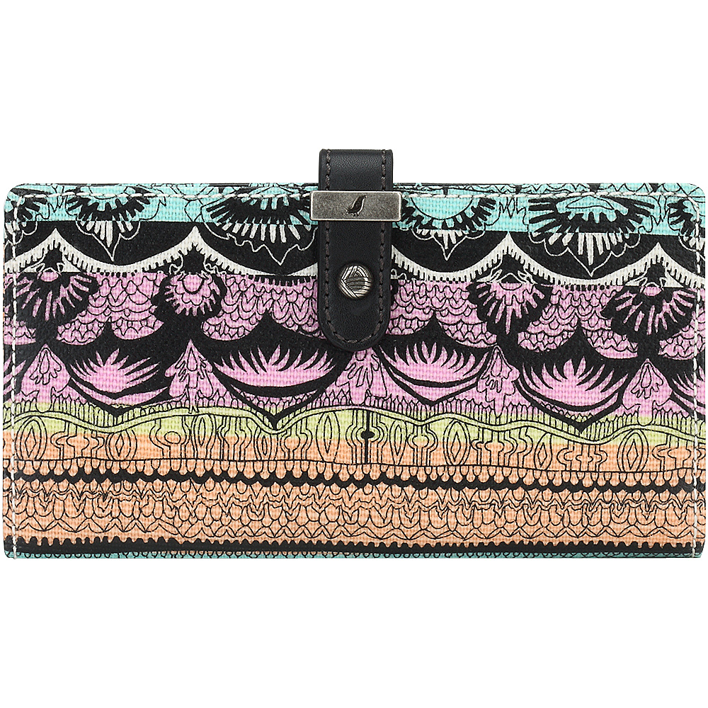 Sakroots Rae Slim Charging Wallet Sherbet One World - Sakroots Womens Wallets - Women's SLG, Women's Wallets