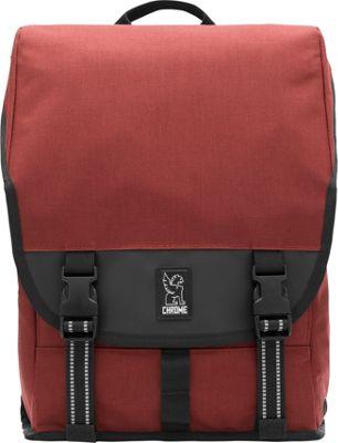 Chrome Industries Soma Laptop Backpack Brick/Black - Chrome Industries Business & Laptop Backpacks