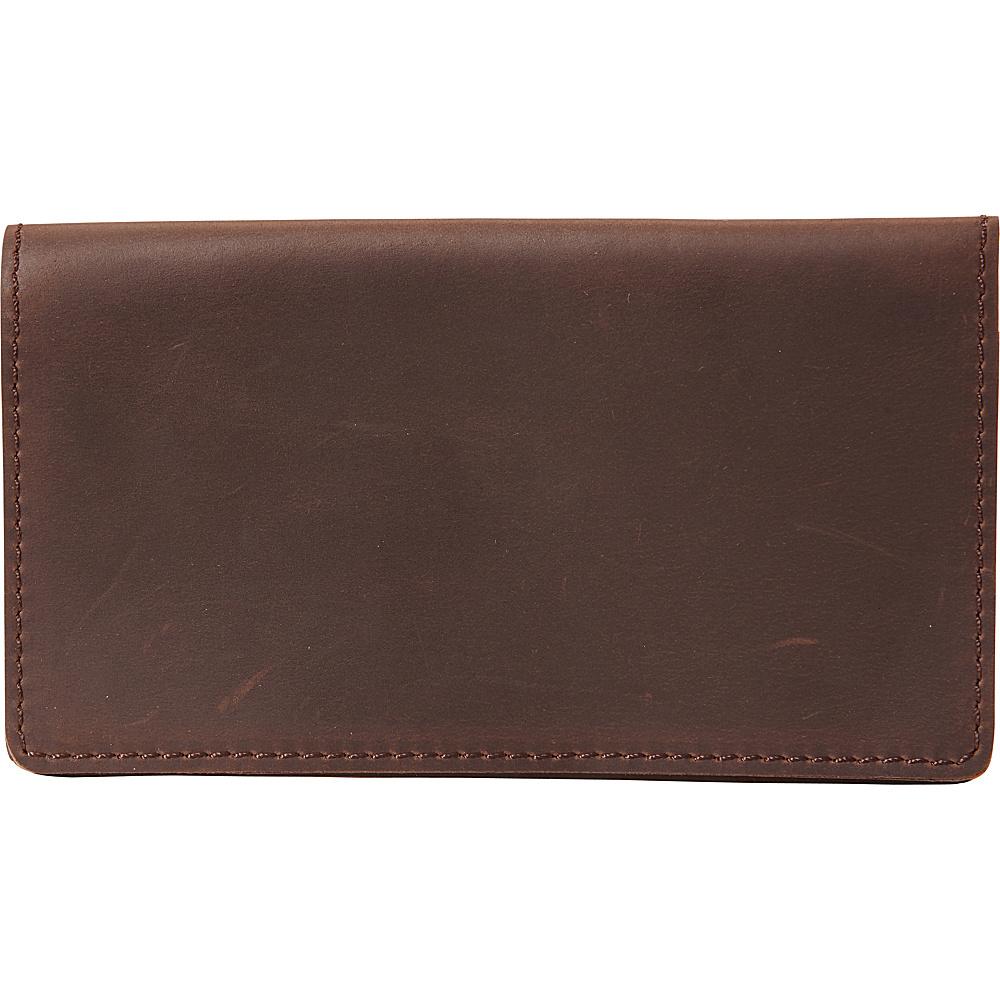 Vagabond Traveler Simple Checkbook Cash Folder Wallet Distress - Vagabond Traveler Mens Wallets - Work Bags & Briefcases, Men's Wallets