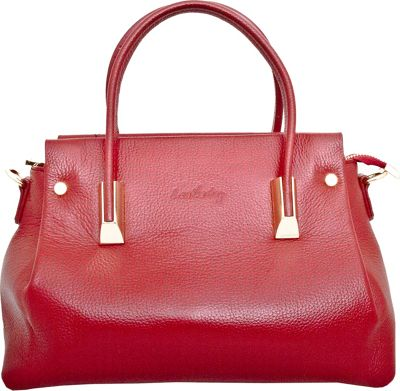 Leatherbay Bellano Tote Dark Red - Leatherbay Leather Handbags