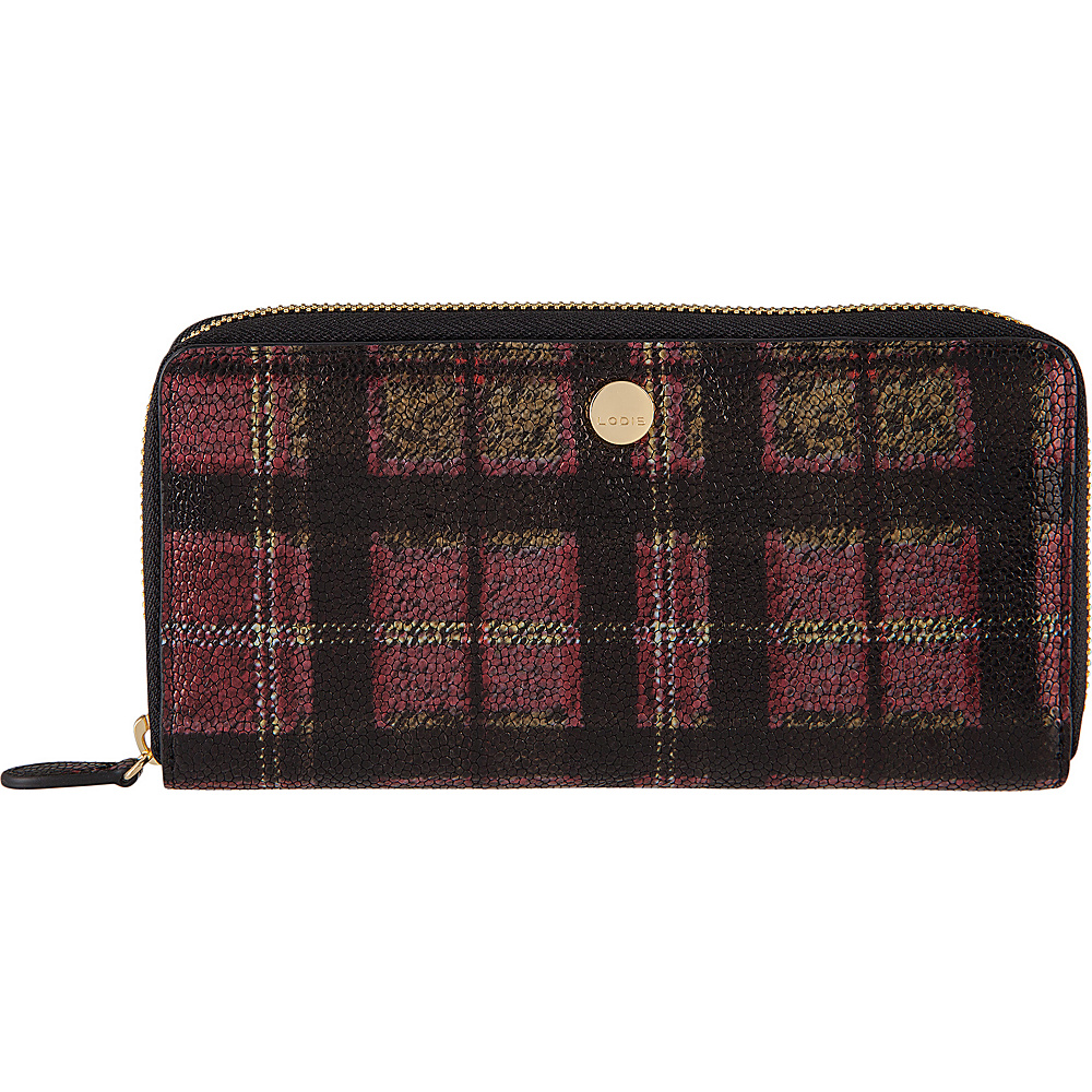 Lodis Romance RFID Perla Zip Wallet Red - Lodis Womens Wallets - Women's SLG, Women's Wallets