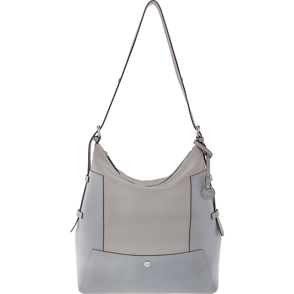 Lodis In The Mix RFID Emerson Convertible Hobo Cement - Lodis Leather Handbags - Handbags, Leather Handbags