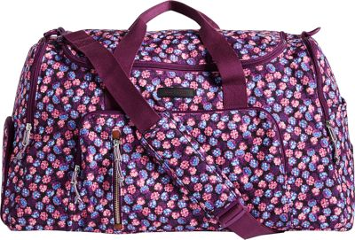 Vera Bradley Lighten Up Ultimate Gym Bag Berry Burst - Vera Bradley Gym Duffels