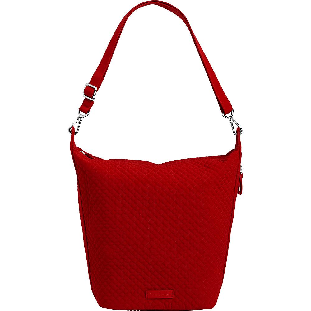 Vera Bradley Carson Hobo Bag - Solids Cardinal Red - Vera Bradley Fabric Handbags - Handbags, Fabric Handbags
