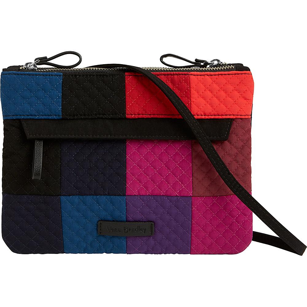 Vera Bradley Iconic Custom RFID Crossbody Winter Patchwork - Vera Bradley Fabric Handbags - Handbags, Fabric Handbags