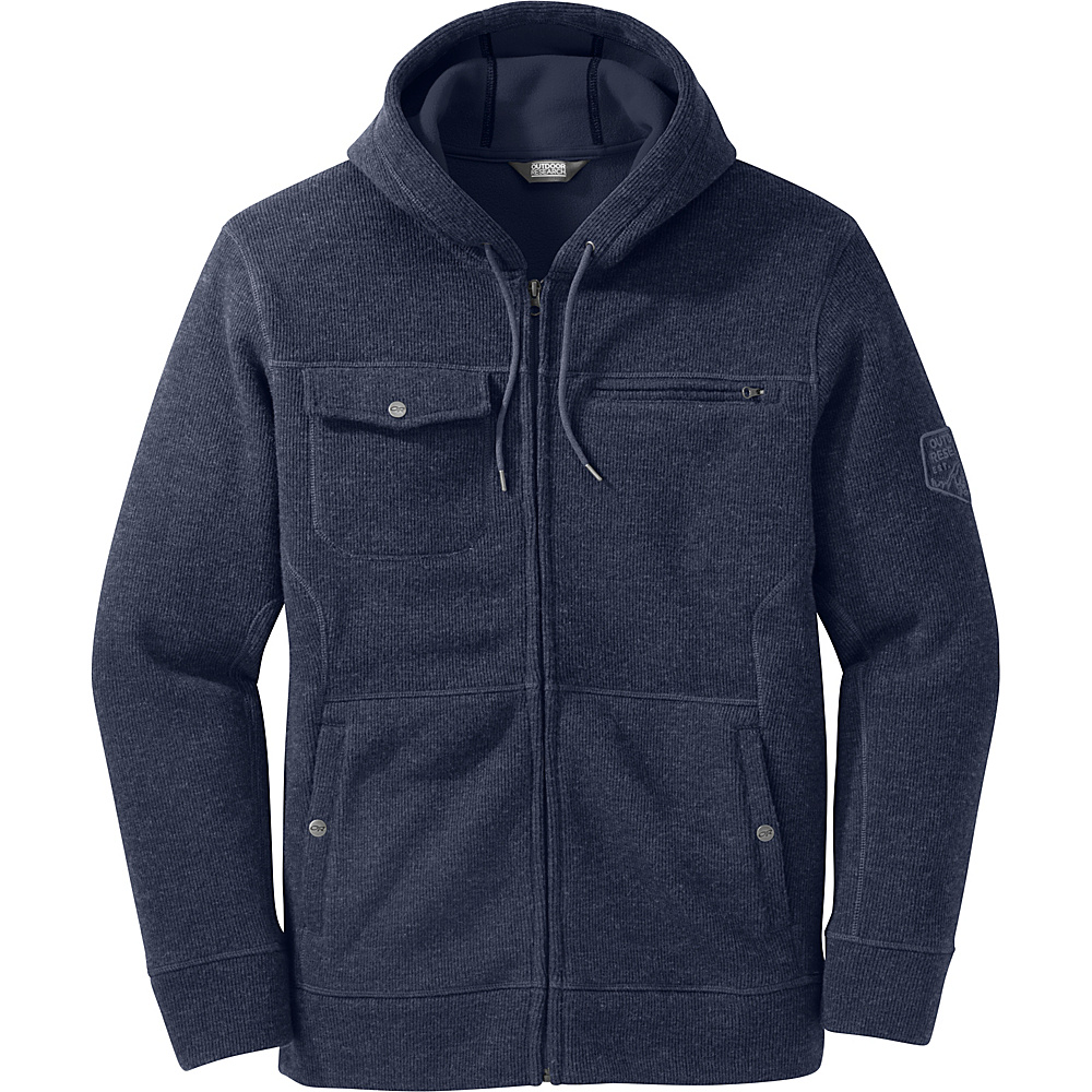 Outdoor Research Mens Exit Metro Hoody M - Night - Outdoor Research Mens Apparel - Apparel & Footwear, Men's Apparel