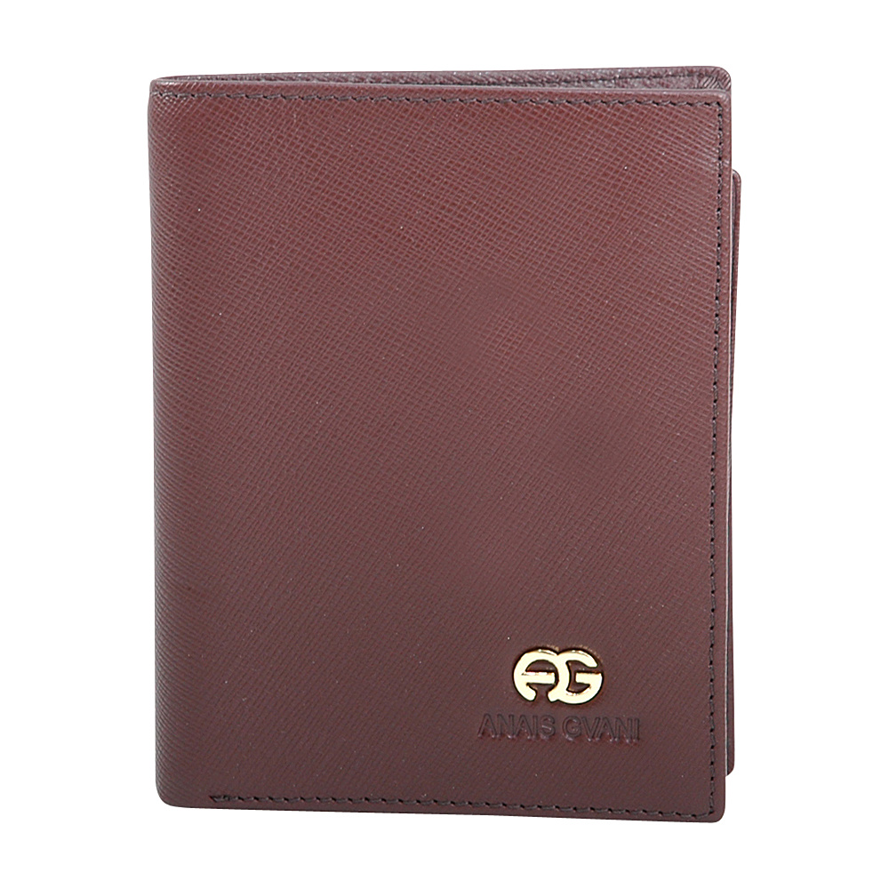 Dasein Mens Genuine Fine Grain Leather Wallet Brown - Dasein Mens Wallets - Work Bags & Briefcases, Men's Wallets