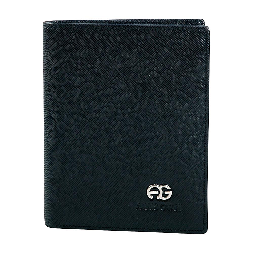 Dasein Mens Genuine Fine Grain Leather Wallet Black - Dasein Mens Wallets - Work Bags & Briefcases, Men's Wallets