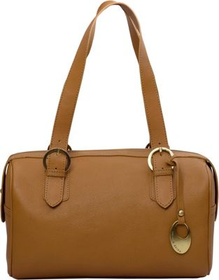Phive Rivers Double Handle Leather Satchel Tan - Phive Rivers Leather Handbags