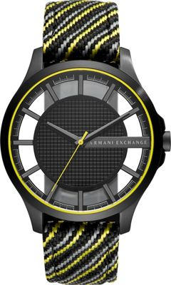 A/X Armani Exchange Men's Watch Black - A/X Armani Exchange Watches