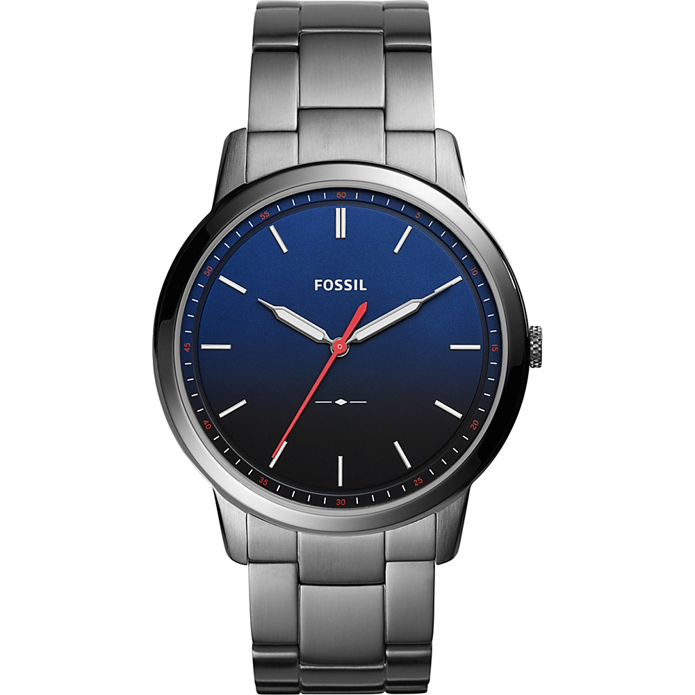 Fossil The Minimalist Slim Three-Hand Stainless Steel Watch Grey - Fossil Watches - Fashion Accessories, Watches