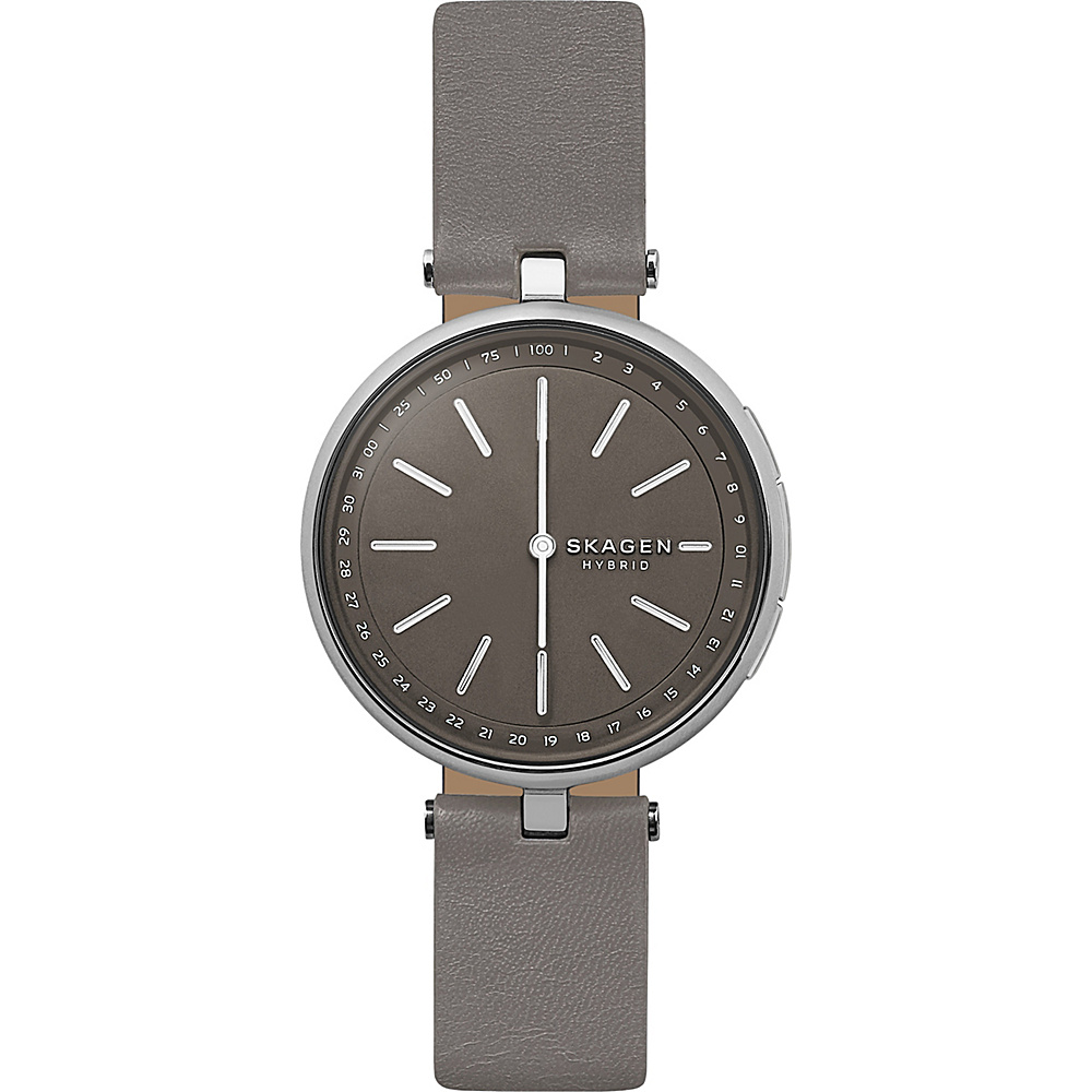 Skagen Signatur Connected Hybrid Watch Grey - Skagen Wearable Technology