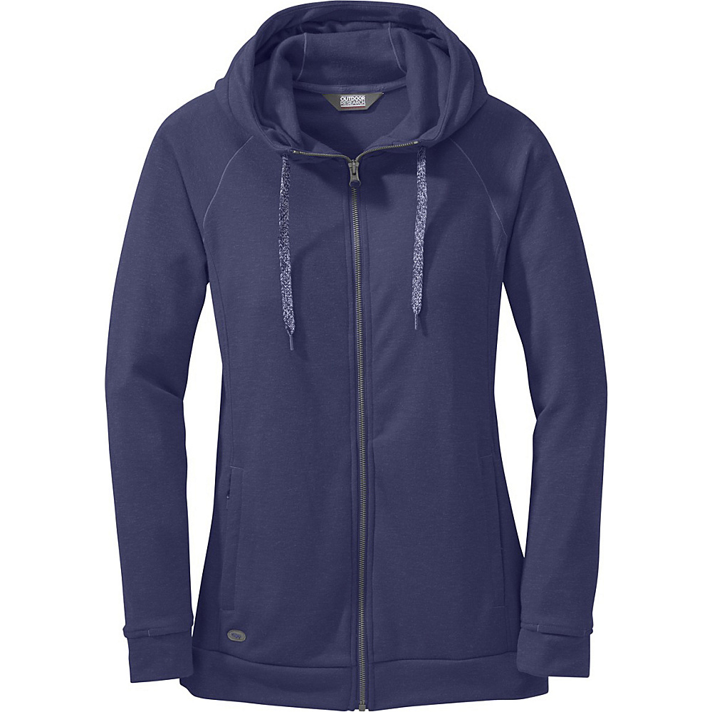 Outdoor Research Womens Ozette Full Zip Hoody S - Blue Violet - Outdoor Research Womens Apparel - Apparel & Footwear, Women's Apparel