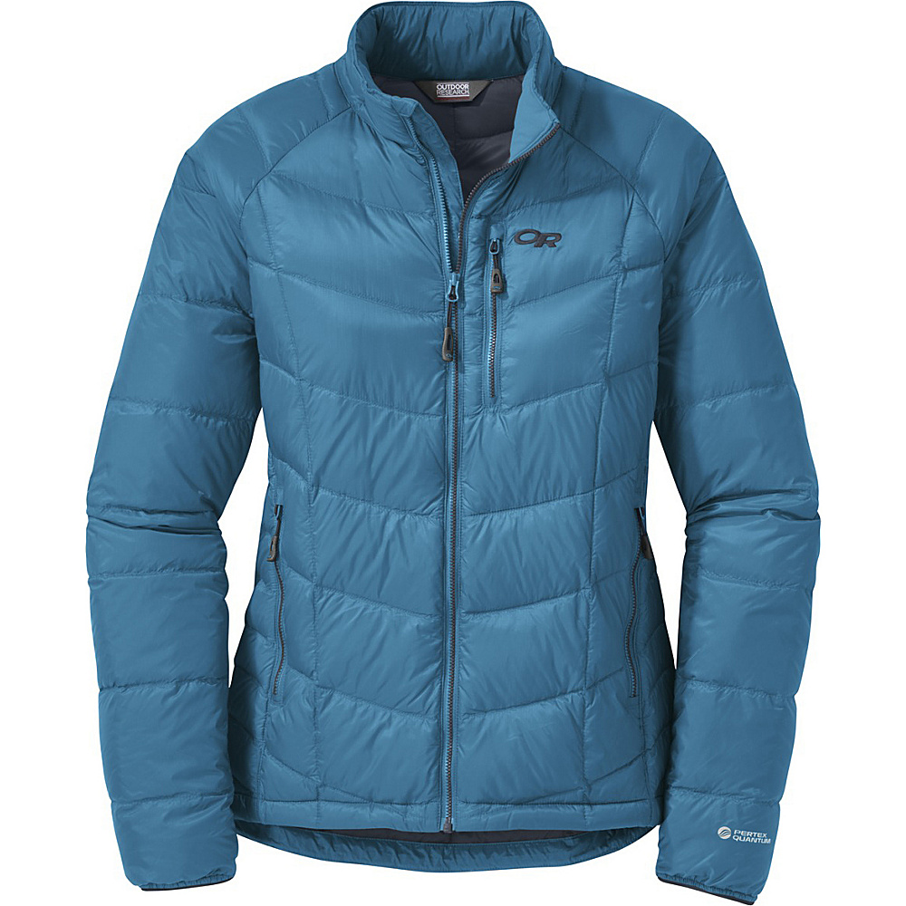 Outdoor Research Womens Sonata Down Jacket L - Oasis/Night - Outdoor Research Womens Apparel - Apparel & Footwear, Women's Apparel