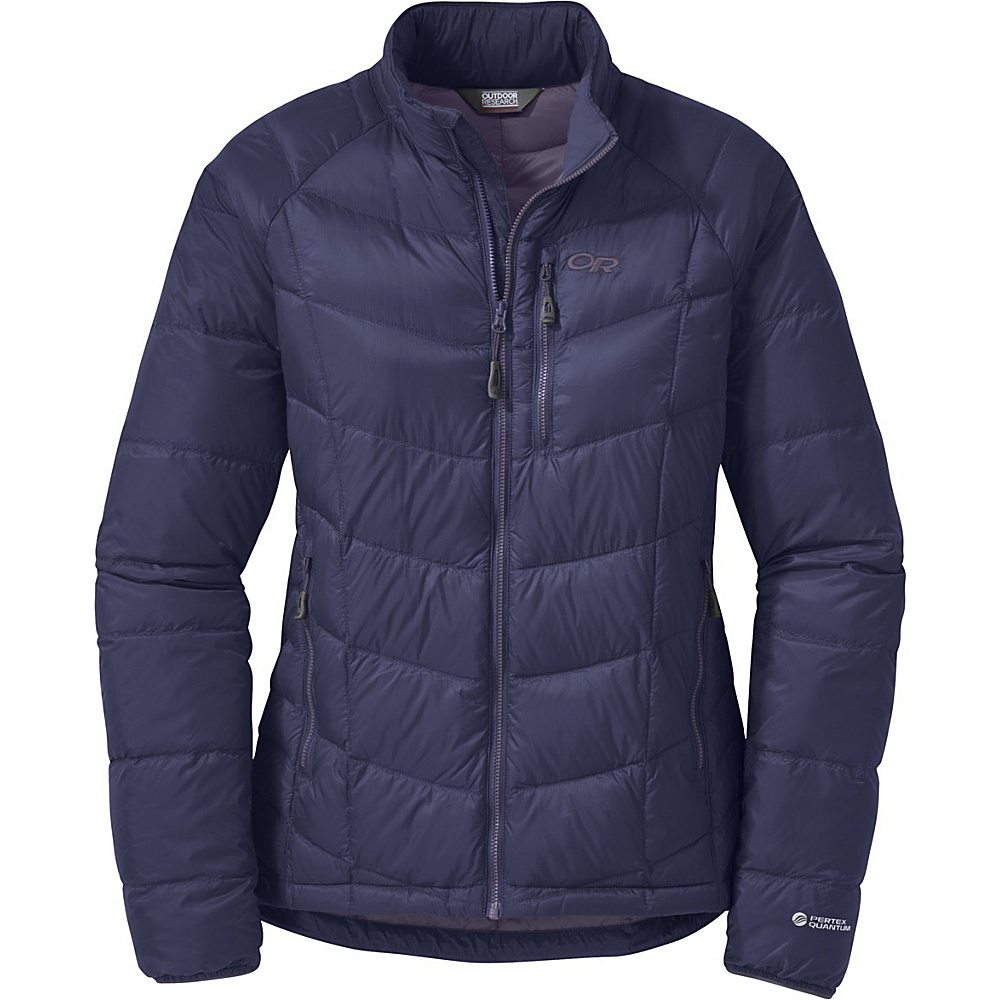 Outdoor Research Womens Sonata Down Jacket S - Blue Violet/Fig - Outdoor Research Womens Apparel - Apparel & Footwear, Women's Apparel