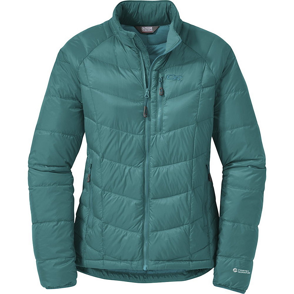 Outdoor Research Womens Sonata Down Jacket S - Atlantis/Sea - Outdoor Research Womens Apparel - Apparel & Footwear, Women's Apparel
