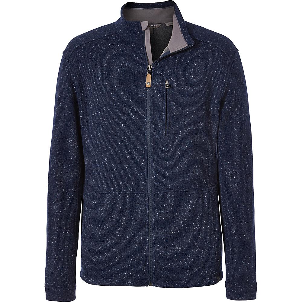 Royal Robbins Mens Dolomites Sweater Fleece Jacket XXL - Navy - Royal Robbins Mens Apparel - Apparel & Footwear, Men's Apparel